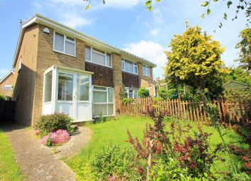 Thumbnail 3 bed semi-detached house for sale in Fennel Walk, Shoreham-By-Sea