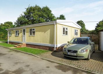 Thumbnail 3 bed mobile/park home for sale in Swarkestone Road, Weston-On-Trent, Derby