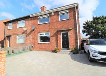 Thumbnail 3 bed semi-detached house for sale in Coniston Road, Wallsend