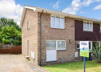 Thumbnail 2 bed end terrace house for sale in Lanes End, Totland Bay, Isle Of Wight