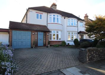 Thumbnail 3 bed semi-detached house for sale in Queen Annes Grove, Enfield