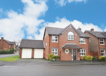 Thumbnail 4 bed detached house for sale in Rushbury Close, Shirley, Solihull