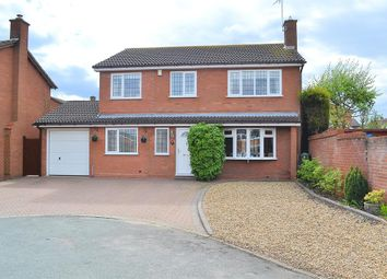 Thumbnail 4 bed detached house for sale in Alder Close, Lichfield
