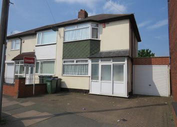Thumbnail 3 bed semi-detached house for sale in Witton Lane, West Bromwich