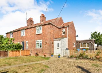 Thumbnail 3 bed end terrace house for sale in Narford Road, West Acre, King's Lynn