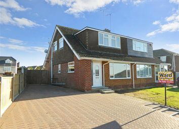 Thumbnail 3 bed semi-detached house for sale in Faversham Road, Seasalter, Whitstable, Kent
