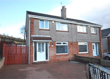 Thumbnail 3 bed semi-detached house for sale in Blantyre Crescent, Duntocher, Clydebank
