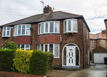 Thumbnail 3 bed semi-detached house to rent in Nunthorpe Crescent, Bishopthorpe Road, York
