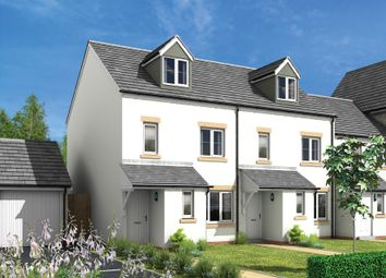 Thumbnail 4 bed end terrace house for sale in Charter Way, Liskeard