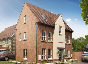 """Thumbnail 4 bed detached house for sale in """"Hexham"""" at Rykneld Road, Littleover, Derby"""