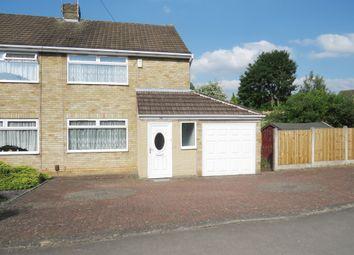 Thumbnail 3 bed semi-detached house for sale in Kimberley Road, Borrowash, Derby