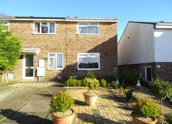 Thumbnail 2 bed semi-detached house for sale in The Chase, Brackla, Bridgend