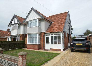 Thumbnail 3 bed detached house for sale in Waldemar Avenue, Hellesdon, Norwich, Norfolk