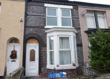 Thumbnail 3 bed terraced house for sale in Tennyson Street, Bootle