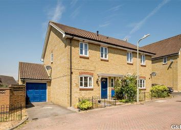 Thumbnail 3 bed semi-detached house for sale in Ayrshire Close, Ashford, Kent