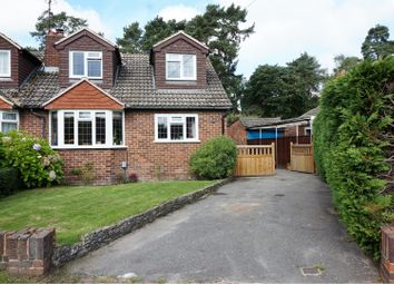Thumbnail 3 bed semi-detached bungalow for sale in Spring Woods, Fleet