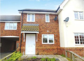 Thumbnail 2 bed terraced house to rent in Heathlands, Beck Row, Bury St. Edmunds