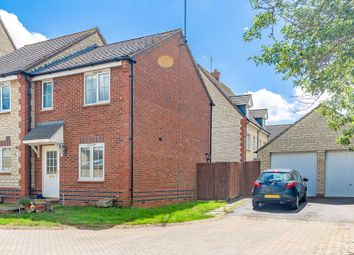 Thumbnail 2 bed semi-detached house for sale in Goldfinch Close, Bicester