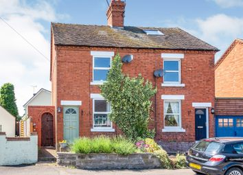 Thumbnail 2 bed semi-detached house for sale in Broomyclose Lane, Stramshall, Uttoxeter
