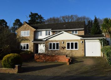 Thumbnail 5 bed detached house for sale in Elsenwood Crescent, Camberley