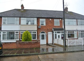 Thumbnail 3 bed town house for sale in Shropshire Road, Leicester