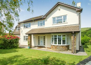 Thumbnail 4 bed detached house for sale in Darren View, Llangynwyd, Maesteg