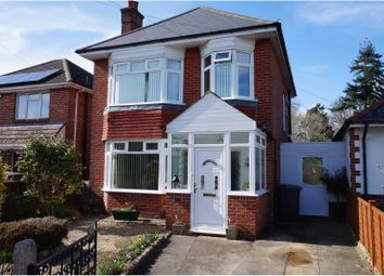 Thumbnail 3 bed detached house for sale in Redhill Drive, Bournemouth