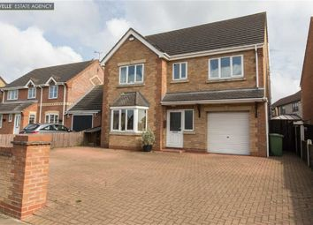 Thumbnail 5 bed detached house for sale in Clematis Way, Scunthorpe