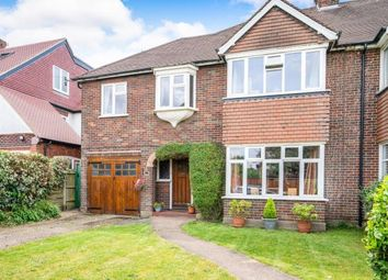 Thumbnail 4 bed semi-detached house for sale in Hinchley Wood, Surrey