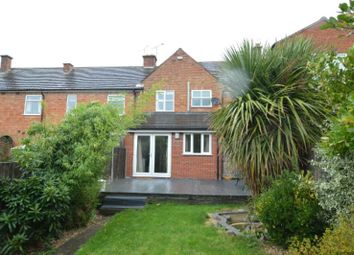 Thumbnail 2 bed terraced house for sale in Alexander Avenue, Enderby, Leicester