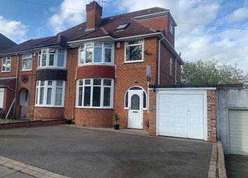 Thumbnail Semi-detached house for sale in Lindsworth Road, Kings Norton, Birmingham