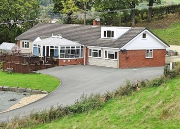 Thumbnail 6 bed detached bungalow for sale in Erw Wernddu, Wern Ddu Lane, Wern Ddu Lane, Newtown, Powys