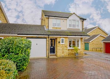 Thumbnail 3 bed detached house for sale in Hillfield, Alconbury, Huntingdon.