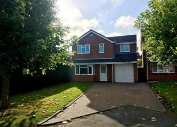 Thumbnail 4 bedroom detached house for sale in Wren Avenue, Wolverhampton, West Midlands