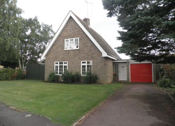 Thumbnail 3 bed detached house for sale in St Marys Close, Woodnewton, Peterborough