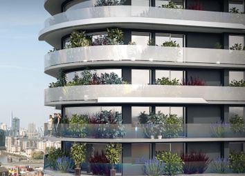Thumbnail 3 bed flat for sale in Pump Tower, Royal Victoria Residence, London