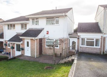 Thumbnail 3 bed semi-detached house for sale in Riverford Close, Woolwell, Plymouth