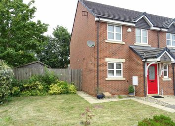 Thumbnail 3 bed town house for sale in Wellington Close, Burbage, Hinckley