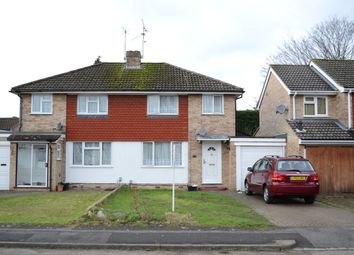 Thumbnail 3 bedroom semi-detached house for sale in Quentin Road, Woodley, Reading