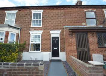 Thumbnail 3 bed terraced house for sale in Churchill Road, Norwich