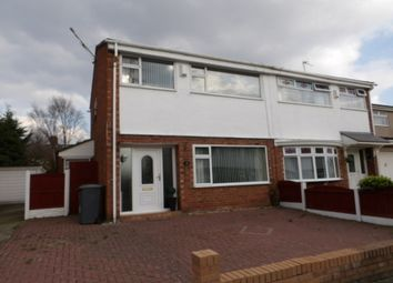 Thumbnail 3 bed semi-detached house for sale in Palmwood Close, Prenton