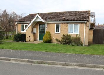 Thumbnail 2 bed detached bungalow for sale in 72 Southfields, Bourne, Lincs