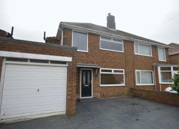 Thumbnail 3 bed semi-detached house for sale in Debdon Gardens, Newcastle Upon Tyne