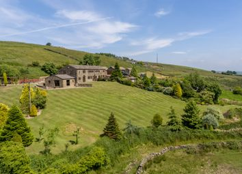 Thumbnail 3 bed barn conversion for sale in Mean Hey, Old Ground Cop Hill, Slaithwaite, Huddersfield