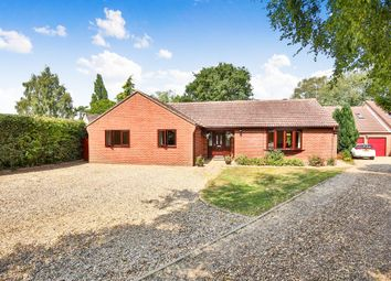 Thumbnail 4 bed detached bungalow for sale in Cuttons Corner, Hemblington, Norwich
