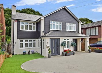 Thumbnail 4 bed detached house for sale in Fairview Avenue, Wigmore, Gillingham, Kent
