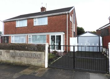 Thumbnail 3 bed semi-detached house for sale in Millbrook Drive, Old Hall Estate, Kirkby