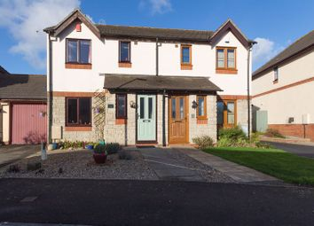 Thumbnail 3 bed semi-detached house for sale in The Gardens, Chudleigh, Newton Abbot