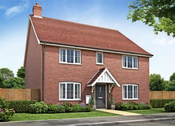 Thumbnail 4 bed detached house for sale in Chequers Road, Tharston, Norwich