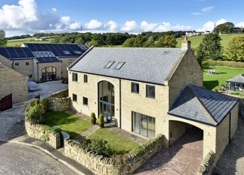 Thumbnail 4 bed detached house for sale in Whitley Willows, Addlecroft Lane, Lepton
